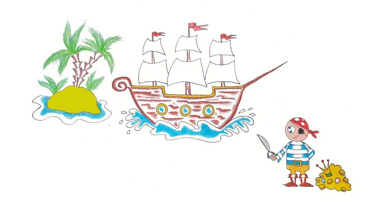 A Pirate Ship Clipart